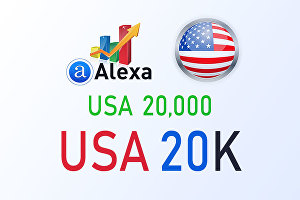 I will improve your USA Alexa Rank below 20k