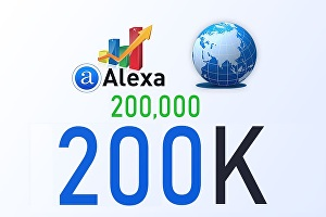 I will improve your Global Alexa Rank below 200k
