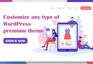 I will Customize Your WordPress website with Premium Theme