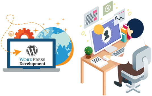 Design your wordpress website for your company