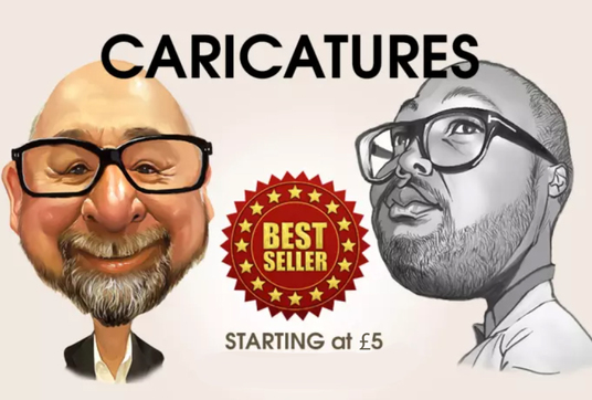 draw caricatures from your photo