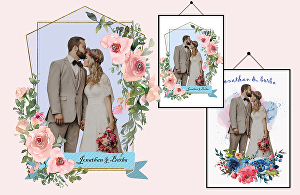 I will draw couple portrait and wedding illustration