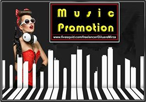 I will do music promotion professionally
