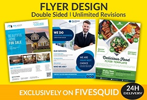 I will design awesome professional flyer