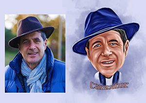 I will turn your photos into caricature paintings