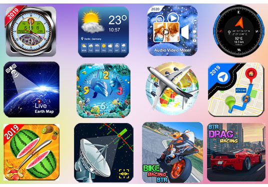 design apps and games icon for IOS and Google play