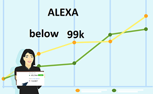 I will improve usa alexa ranking under 99k