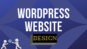 I will create WordPress website and fix any error