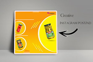 I will design instagram post and facebook post image