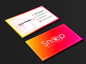 I will do luxury business card design