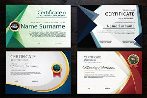 I will create a certificate for you