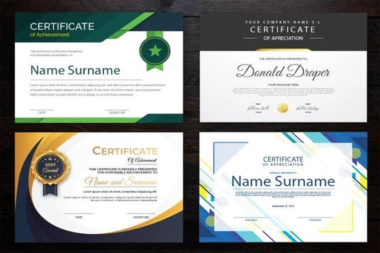 create certificate for you