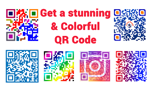 I will create high quality colorful qr code