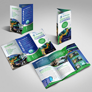 I will do awesome professional trifold brochure design