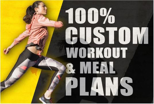 create a professional diet and workout plan for you