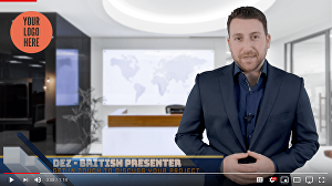 I will be your British Website Video Presenter Spokesperson