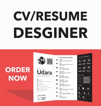 Design Professional CV or Resume and Cover Letter