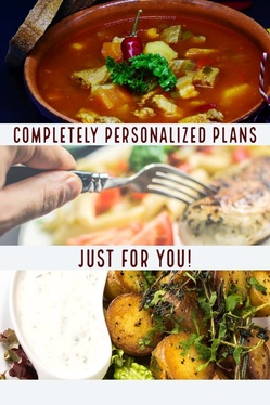customize meal plans and workout plans to fit your needs