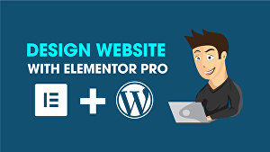 I will design or clone WordPress website  with Elementor pro page builder