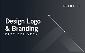I will design professional looking logo and branding