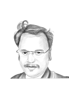draw a pencil sketch of your portrait