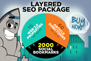 I will boost website rankings with advanced layered SEO backlinks