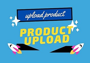 I will do product, title, content, upload in your providing site