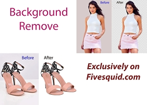 I will do professional photoshop editing and bulk photo background removal