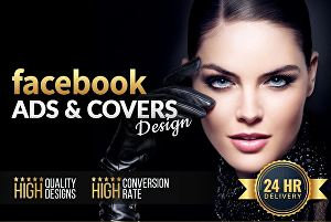 I will design mind blowing facebook business cover photo
