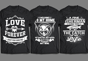 I will create exclusive t shirt design