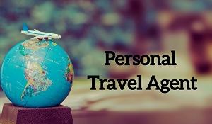 I will be your personal travel agent