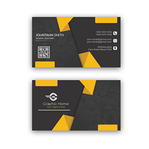 I will design a modern business card