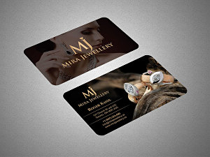 I will do professional double side business card design