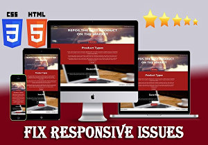 I will make your website fully responsive and mobile friendly