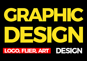 I will be your professional graphic designer