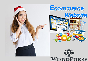 I will create your ecommerce website by wordpress