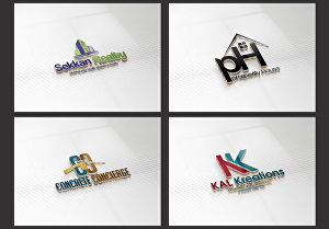 I will design real estate logo