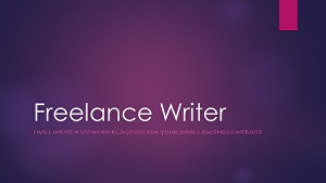 I will write a 500 word blog post for your small business website