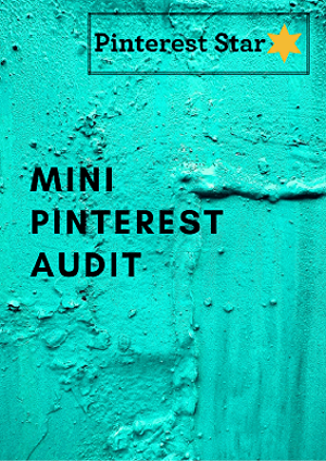 I will do a Mini Audit of your Pinterest account