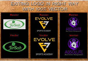I will design, redesign, vectorize and update your logo