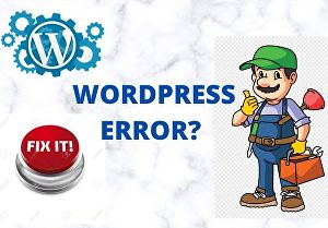 I will fix WordPress website issues, errors or problems