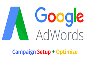 I will create google adwords search and display campaign