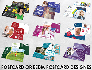 I will Design Postcard, Direct Mail Professional Postcard  in 24 hours
