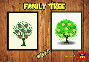 I will draw awesome family tree