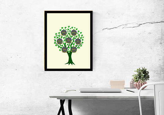 draw awesome family tree