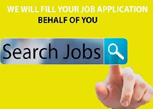 I will search and apply for up to 100 jobs on behalf of you
