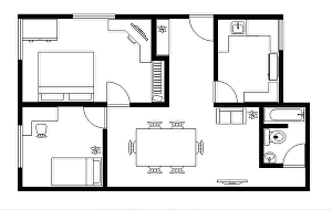 I will design your floor plan, elevations, section for building permit