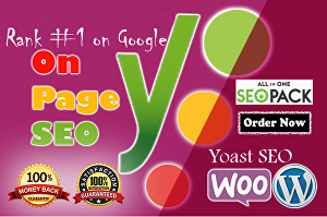 I will do complete WordPress On Page SEO by Yoast Premium Plugin