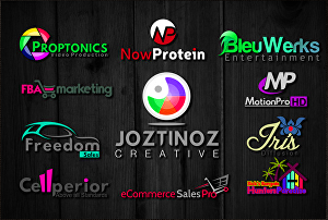I will do modern business 3d professional best 4k logo design