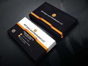 I will design unique minimalist professional luxury business card in 24 hours